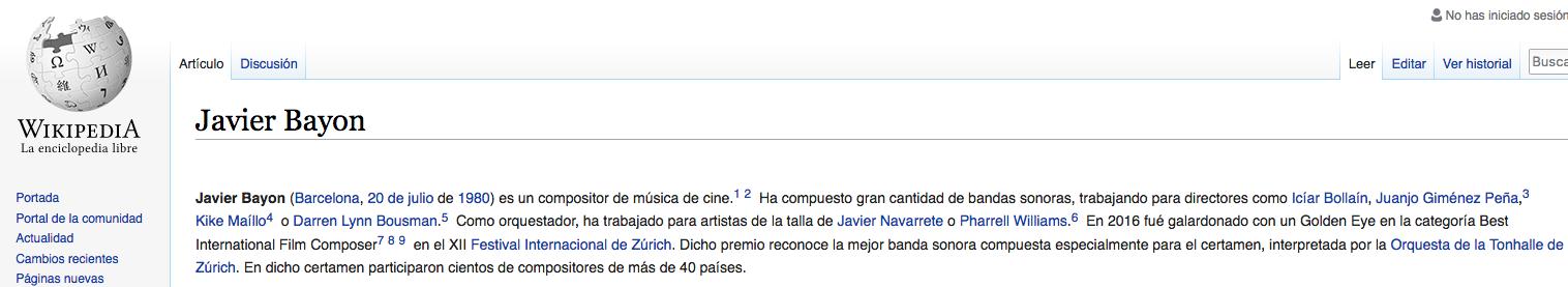 Javier Bayon